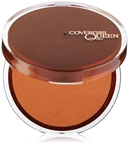 COVERGIRL Lasting Matte Pressed Powder, Medium Deep Q425, 0.37 Ounce