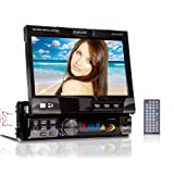 18cm/7&#34; Autoradio + Touchscreen Motoresiert +Farbdisplay + Bluetooth + DVD Player + USB + SD XM-DTSB902von &#34;XOMAX&#34;