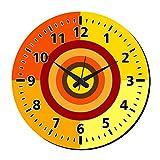 MeSleep Dart Wall Clock With Glass Top