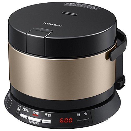 日立 IHジャー炊飯器(2合炊き) ブラウンゴールドHITACHI おひつ御膳 RZ-WS2M-N