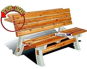 2x4basics 90110 Flip Top BenchTable, Sand
