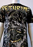 """DETHRONE ROYALTY NEW """"SMOKED OUT"""" MMA SHIRT X-LARGE"""