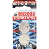 2 x Maxell CR2032 battery