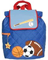Stephen Joseph Little Boys' Boy's Quilted Backpack