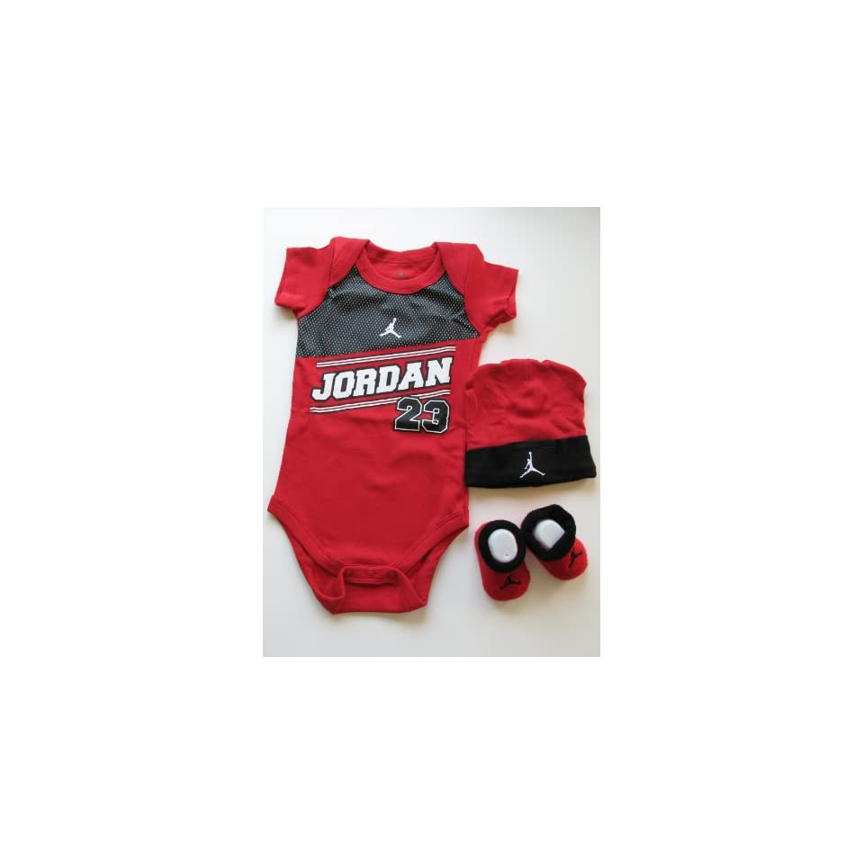 403ccf07f ... Anti Dust Plug Iviva. $89.99. Nike Jordan Classic 23 Red and Black  Infants or Baby Bodysuit Cap/ Hat Booties+ Free