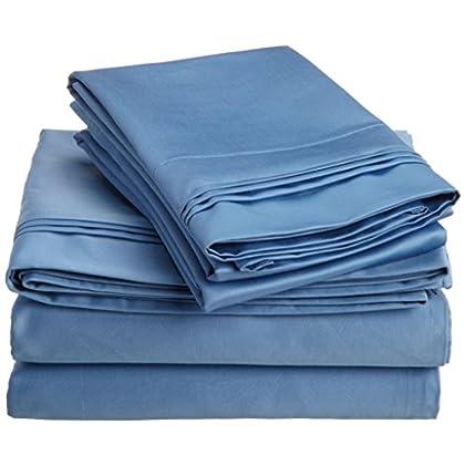 Italian finish 530 Thread Count Egyptian Cotton Bedding by SGI Bedding 7 Piece Sheet set+Duvet Set 27
