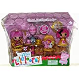 MGA Mini Lalaloopsy Crumbs Tea Party with Bonus Mini Jewel Sparkles (2 Dolls)