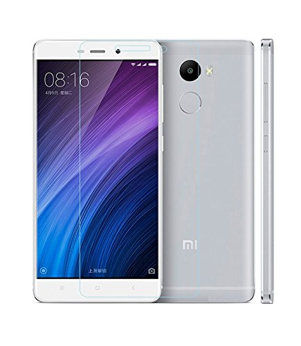 Xiaomi Redmi 4X 4g, Tempered Glass , Premium Real 2.5D 9H Anti-Fingerprints & Oil Stains Coating Hardness Screen Protector Guard For Xiaomi Redmi 4X 4G