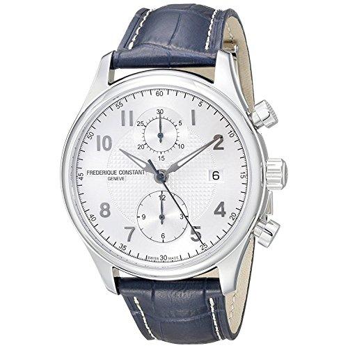 frederique-constant-homme-42mm-bracelet-cuir-bleu-boitier-acier-inoxydable-automatique-montre-fc-393