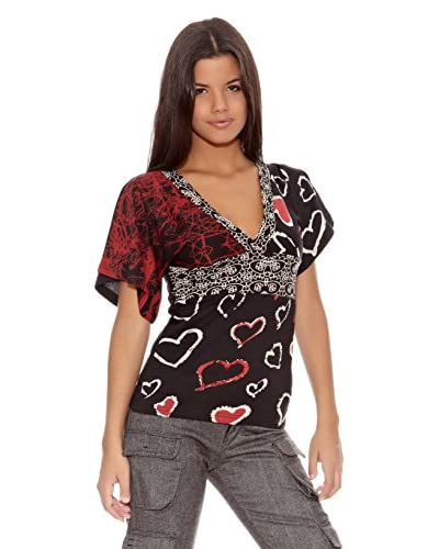 Desigual Blusa Sident Out [Nero]