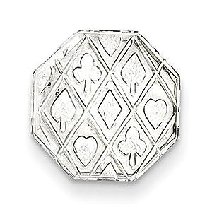 Gift and Jewels - Tie- TAC en argent sterling - Largeur 12,00 mm