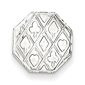 Gift and Jewels - Tie- TAC en argent sterling - Largeur 12,00 mm