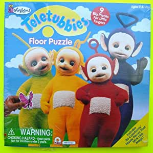 Amazon.com: Teletubbies 9-Piece Floor Puzzle From Colorforms: Toys