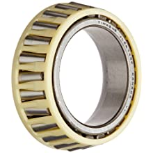 "Timken JL26749F Tapered Roller Bearing, Single Cone, Standard Tolerance, Straight Bore, Steel, Inch, 1.2598"" ID, 0.5910"" Width"