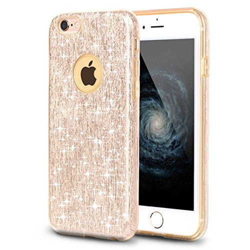 iPhone-5S-CaseiPhone-5S-Hard-CaseiPhone-5S-Glitter-CaseUZZO-Bling-Transparent-Plastic-3D-Glitter-Quicksand-and-Star-Liquid-Hard-Back-Protective-Case-Cover-for-iPhone-5-5S