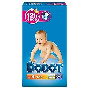 Dodot - Pañales para bebé, talla 4 - 192 pañales