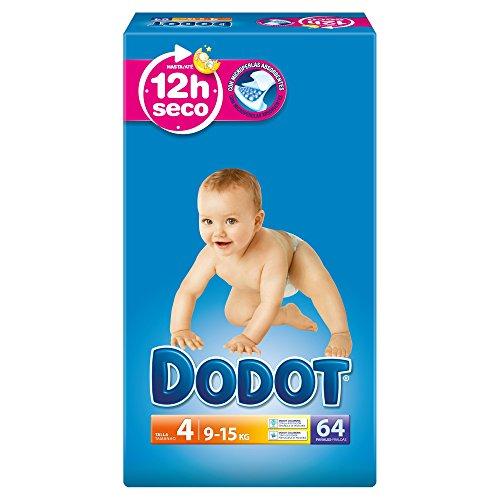 Dodot-Baby Diaper Talla 4 (9-15 kg)