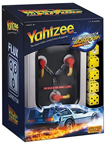 YAHTZEE: Back to the Future Collector's Edition Board Game by USAOPOLY, Inc., us toys