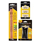 Prismacolor Premier Accessory Set, Includes Colorless Blender Pencils (2 Piece), Premier Pencil Sharpener(1 Piece) & Magic Rub Erasers (3 Piece) (Color: Assorted)