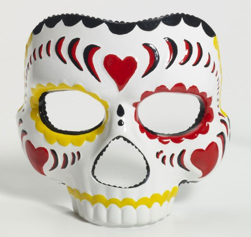 Day Of The Dead Mask Mardi Gras Mask 70469 70470