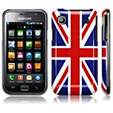 SAMSUNG i9000 GALAXY S UNION JACK BACK COVER CASE / SHELL / SHIELD PART OF THE QUBITS ACCESSORIES RANGEby Qubits