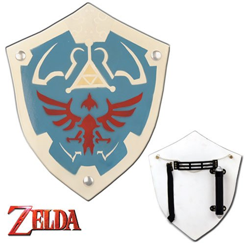 Zelda Hylian Wood Shield