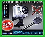 GoPro monopod, expandable monopod 98cm (40