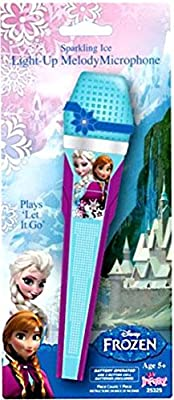 Disney Frozen Singing Light up Microphone by License 2 Play