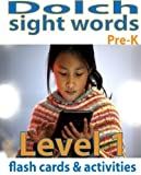 Dolch Sight Words Flash Cards & Activities: Level 1 (Sight Words: Reading Comprehension)