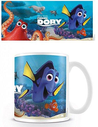 Set: Alla Ricerca Di Dory, Characters Tazza Da Caffè Mug (9x8 cm) E 1 Sticker Sorpresa 1art1®