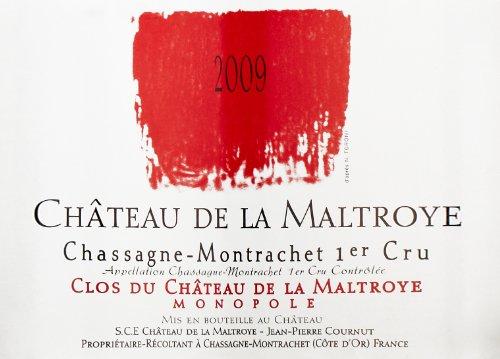 """2009 Chateau De La Maltroye Rouge """"Clos Du Chateau De La Maltroye,"""" Chassagne-Montrachet 1Er Cru 750 Ml"""