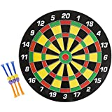 TMG Deluxe Magnetic Dart Board Set - Includes 6 Magnetic Darts!
