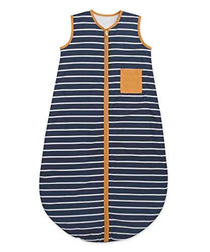 Genuine Mothercare Snoozie - Sleeping Bag 18 - 36 Months 2.5 tog Beautiful Whale Bay Blue, White and Yellow Design.