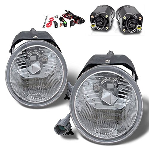 SPPC Clear Fog Lights For Nissan Frontier (2004 Nissan Exterra Parts compare prices)