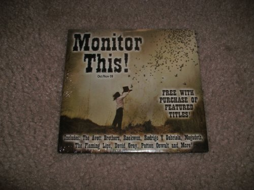 MONITOR THIS OCTOBER NOVEMBER 2009 by PHISH, BRANDI CARLLE, THE AVETT BROTHERS, DAVID GRAY and MASON JENNINGS