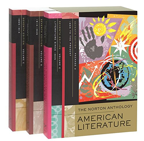 Norton anthology of american literature: v. C, D & E