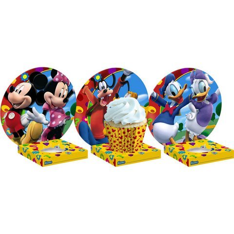 Mickey's Clubhouse Cupcake Holders 6ct - 1