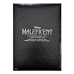 Maleficent Lithograph Limited Edition Set