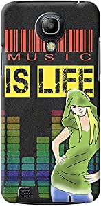 Kasemantra Music Is Life Case For Samsung Galaxy S4 Mini