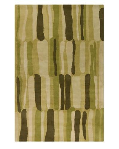 Filament Nerissa Hand-Tufted Wool Rug, Green, 5' x 7' 6