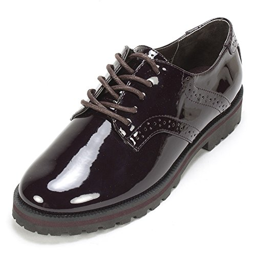 White Mountain Women's Gilly Oxford, Plum, 7.5 M US