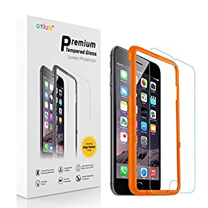 iPhone 6/6s Screen Protector (4.7 inches only) Otium Tempered Glass Screen Protector with Applicator HD Oleophobic Anti Scratch Anti Fingerprint Round Edge Ultra Clear for iPhone 6/6s