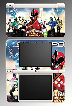 Power Rangers Super Samurai Video Game MMPR RPM Jungle Fury Video Game Vinyl Decal Cover Skin Protector #5 Nintendo DSi XL