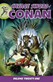 img - for Savage Sword of Conan Volume 21 by Roy Thomas (2016-02-09) book / textbook / text book