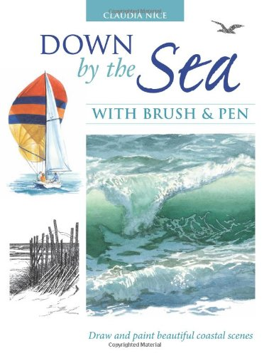 Down by the Sea  Brush and Pen: Draw and Paint