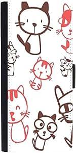 Snoogg Kitties Cutedesigner Protective Flip Case Cover For Samsung Galaxy Gra...