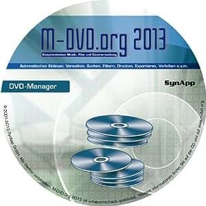 M-DVD.Org 2013 - DVD-Manager - DVD-, Blu-ray- & Cover-Verwaltung mit DVD-Archiv