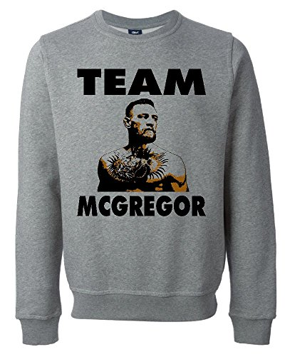 Team Conor McGregor UFC Fan Art Unisex Maglione Felpa Medium