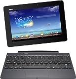 Asus New Transformer Pad TF701T 25,7 cm (10,1 Zoll) Convertible Tablet-PC (Nvidia Tegra 4, 1,9 GHz, 2GB RAM, 32 GB eMMC, NVIDIA 72 Core, Touchscreen, Android 4.2, WQXGA Auflösung ( 2560x1600 ) IPS Display) inkl. KeyDock grau