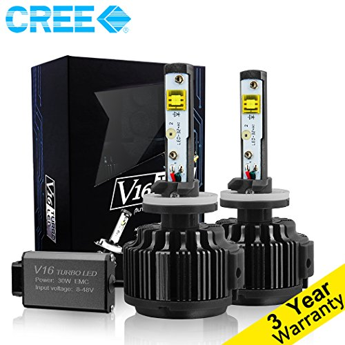 techmax-led-headlight-bulbs-conversion-kit-880-881-893-899-7200lm-60w-6000k-cool-white-cree-3-yr-war